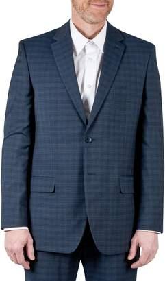 Haggar Tailored Fit Performance Subtle Plaid Suit Jacket