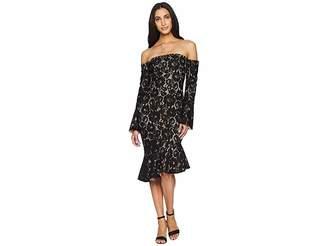 MinkPink Marseille Lace Dress Women's Dress