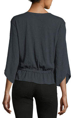 W by Wilt Keyhole Blouson Top