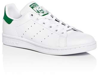 adidas Unisex Stan Smith Leather Lace Up Sneakers - Toddler, Little Kid