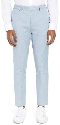 Topman Stretch Skinny Fit Suit Trousers
