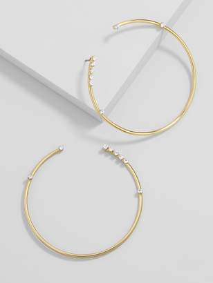 BaubleBar Chantella Hoop Earrings