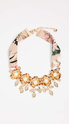 Kate Spade Lavish Blooms Statement Necklace