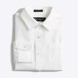 J.Crew Factory Boys' Thompson point-collar dress shirt