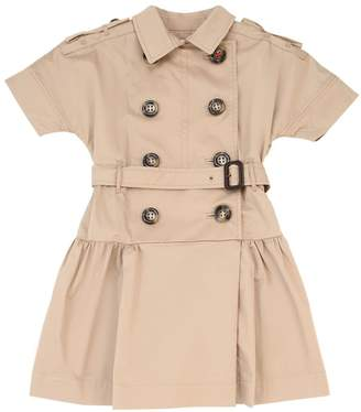 Burberry Cotton Poplin Trench Dress