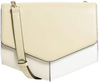 Sandro Leather Flap Shoulder Bag