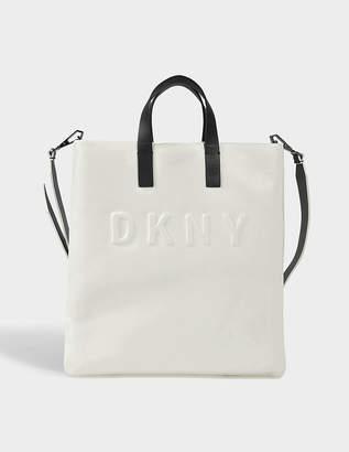 DKNY Debossed Logo tote bag