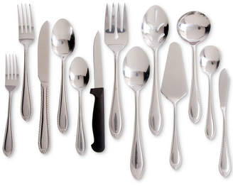 Gibson Wilmington Plus 55-Pc. Stainless Steel Flatware & Serving Set, Service for 8