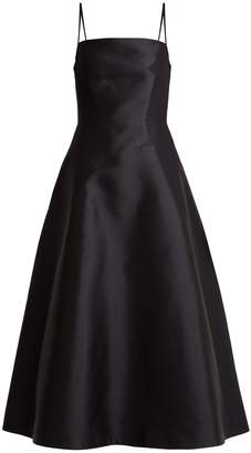GABRIELA HEARST Herve square-neck silk-blend dress