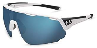 Under Armour Change Up Wrap Sunglasses UA CHANGEUP SATIN CARBON/BLACK FRAME/ROAD TUNED LENS XL