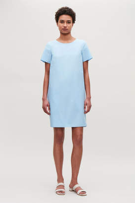 Cos DRESS WITH DRAPED BACK
