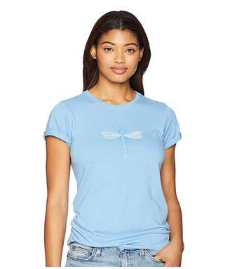 Life is Good Radiant Dragonfly Crusher T-Shirt