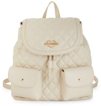 Love Moschino Diamond Quilted Backpack