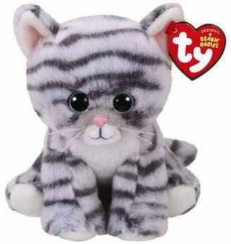 Ty Beanie Boos Millie Tabby Cat Grey Regular