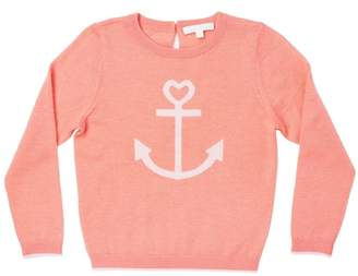 Marie Chantal Summer Cashmere Anchor Sweater