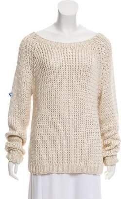 Co Silk Rib Knit Sweater
