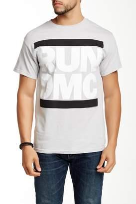 Bravado Run DMC Greyscale Logo Graphic Tee