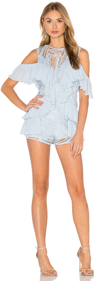 Alice McCall Alice McCall You're Young So Have Fun Girl Playsuit