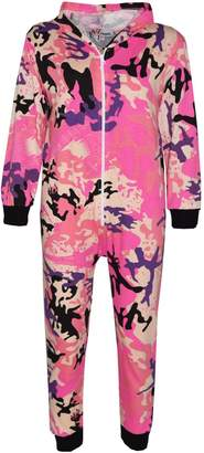 A2Z 4 Kids® Kids Onesie Girls Boys Camouflage Print All in One Jumsuit Playsuit 5-13 Years
