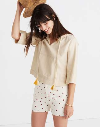 Madewell Hooded Popover Shirt