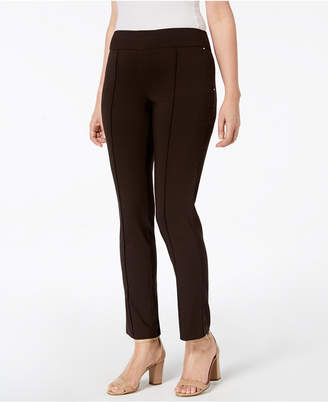 JM Collection Pull-On Skinny Pants