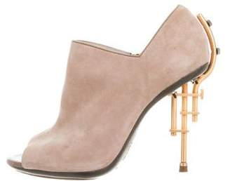 Gianfranco Ferre Suede Ankle Boots
