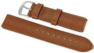 Philip Stein Teslar 2-ZBR 20mm Leather Lizard Watch Strap