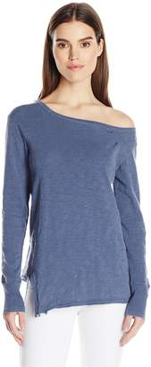 Wilt Women's One Shoulder Slouchy Tunicl/s