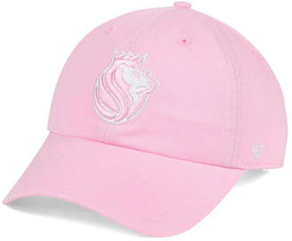 '47 Women's Sacramento Kings Petal Pink Clean Up Cap