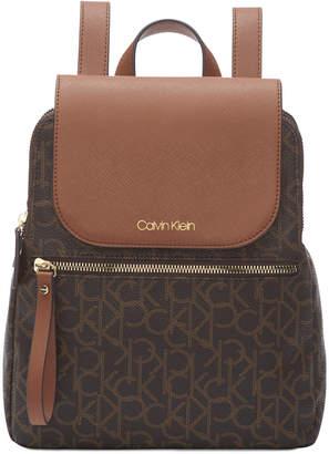 428291504 Calvin Klein Brown Women's Backpacks - ShopStyle