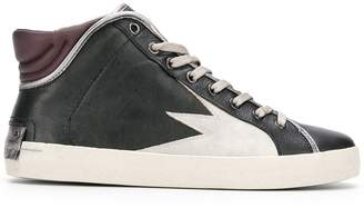 Crime London Hope hi-top sneakers