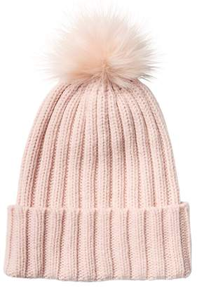 Athleta Ribbed Beanie with Pom