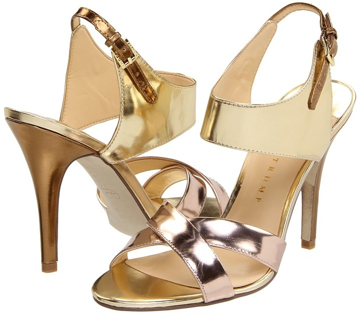 Ivanka Trump Meade (Bronze Specchio Metallic) - Footwear