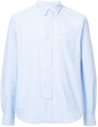 Officine Generale long-sleeve fitted shirt