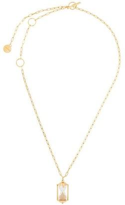 Lanvin hourglass motif necklace