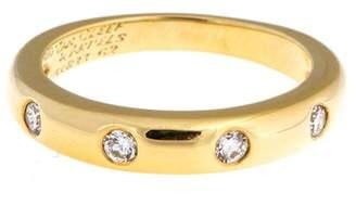 Van Cleef & Arpels Van Cleef and Arpels 18k Yellow Gold Diamond Band Ring