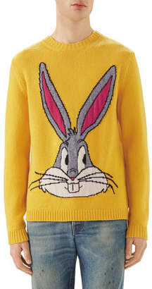 Gucci Bugs Bunny Intarsia Knit Sweater