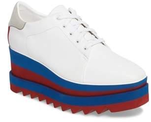 Stella McCartney Sneak-Elyse Flatform Sneaker