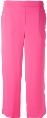 P.A.R.O.S.H. - straight cropped trousers - women - Polyester - L