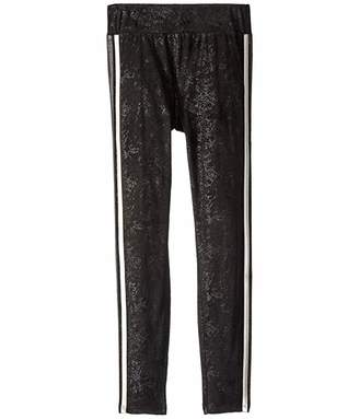 Ella Moss Metallic Rib Leggings (Big Kids)