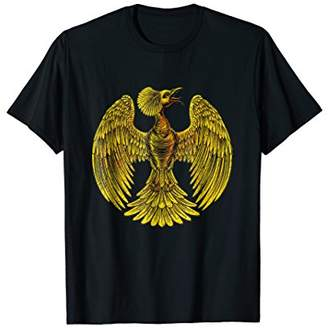 Golden Phoenix T-shirt Phoenix rising from the ashes T shirt