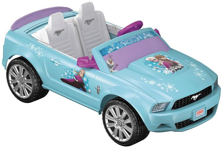 Fisher-price Disney Frozen Power Wheels Ford Mustang by Fisher-Price
