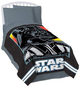 Star Wars Classic Grid 2 Coral Fleece Blanket