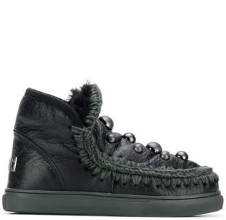 Mou studded eskimo sneakers