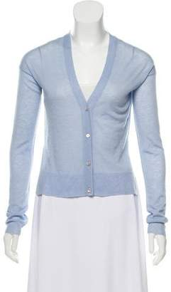 Theory Cashmere Button-Up Cardigan w/ Tags