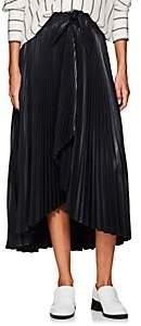 A.L.C. Women's Eleanor Pleated Wrap Skirt - Navy