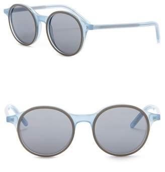 Tomas Maier 49mm Round Sunglasses