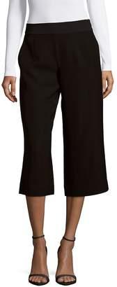 Leo & Sage Women's Wide-Leg Cropped Pants