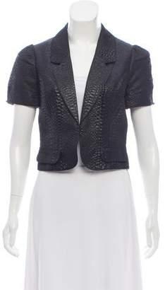 LaROK Short Sleeve Cropped Jacket