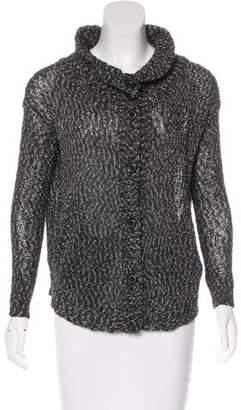 Rachel Zoe Knit Button-Up Cardigan